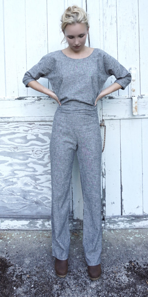 Makers Pantsuit in Organic cotton