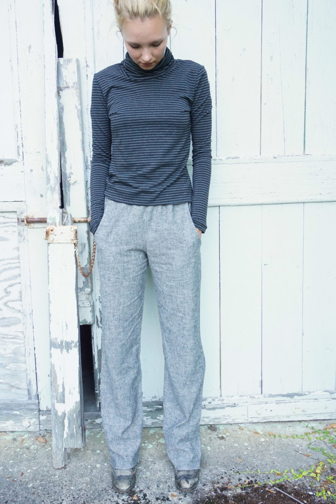 Emma Turtleneck/Ada pants in Organic cotton